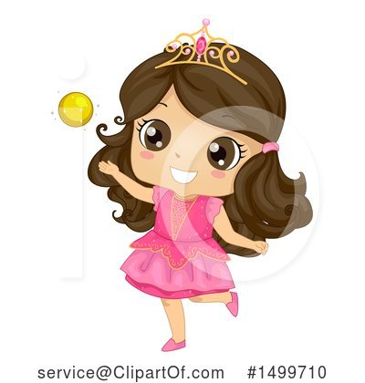 Princess Clipart #1499710 by BNP Design Studio