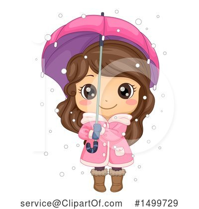 Girl Clipart #1499729 by BNP Design Studio