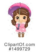 Royalty-Free (RF) Girl Clipart Illustration #1499729