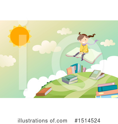 Flying Clipart #1514524 by BNP Design Studio