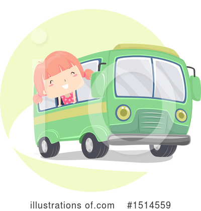 Bus Clipart #1514559 by BNP Design Studio