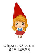 Girl Clipart #1514565 by BNP Design Studio