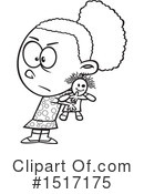 Girl Clipart #1517175 by toonaday