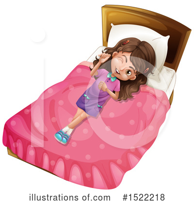 Bed Clipart #1522218 by Graphics RF