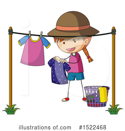 Laundry Clipart #1522468 by Graphics RF