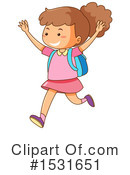 Girl Clipart #1531651 by Graphics RF