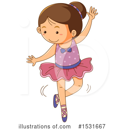 Royalty-Free (RF) Girl Clipart Illustration by Graphics RF - Stock Sample #1531667