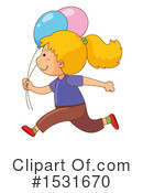 Girl Clipart #1531670 by Graphics RF