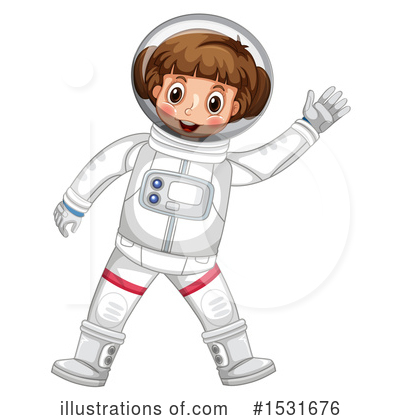 Astronaut Clipart #1531676 by Graphics RF