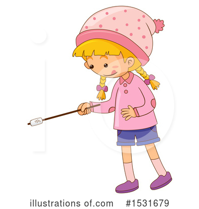 Royalty-Free (RF) Girl Clipart Illustration by Graphics RF - Stock Sample #1531679