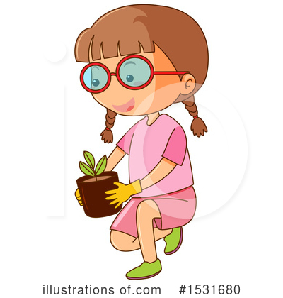 Royalty-Free (RF) Girl Clipart Illustration by Graphics RF - Stock Sample #1531680