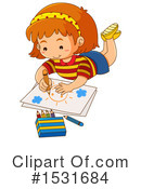 Girl Clipart #1531684 by Graphics RF