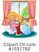 Girl Clipart #1531792 by Graphics RF