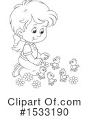 Girl Clipart #1533190 by Alex Bannykh