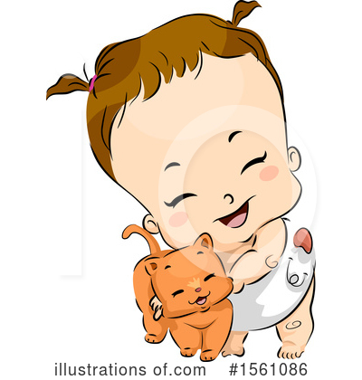 Toddler Clipart #1561086 by BNP Design Studio