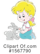 Girl Clipart #1567790 by Alex Bannykh
