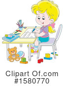 Girl Clipart #1580770 by Alex Bannykh