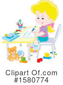 Girl Clipart #1580774 by Alex Bannykh