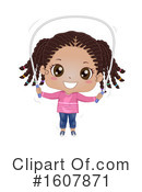 Girl Clipart #1607871 by BNP Design Studio
