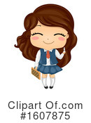 Girl Clipart #1607875 by BNP Design Studio