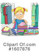 Girl Clipart #1607876 by BNP Design Studio