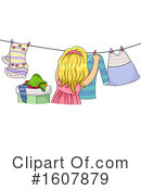 Girl Clipart #1607879 by BNP Design Studio