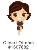 Girl Clipart #1607882 by BNP Design Studio