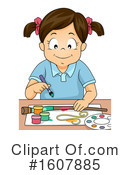 Girl Clipart #1607885 by BNP Design Studio