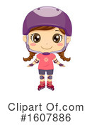 Girl Clipart #1607886 by BNP Design Studio