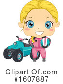 Girl Clipart #1607887 by BNP Design Studio
