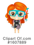 Girl Clipart #1607889 by BNP Design Studio