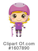 Girl Clipart #1607890 by BNP Design Studio