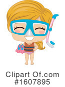 Girl Clipart #1607895 by BNP Design Studio