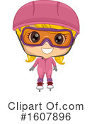 Girl Clipart #1607896 by BNP Design Studio