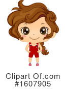 Girl Clipart #1607905 by BNP Design Studio