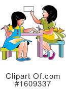 Girl Clipart #1609337 by Lal Perera