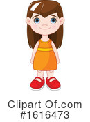 Girl Clipart #1616473 by Pushkin
