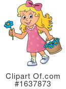 Girl Clipart #1637873 by visekart