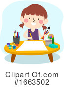 Girl Clipart #1663502 by BNP Design Studio