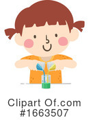 Girl Clipart #1663507 by BNP Design Studio