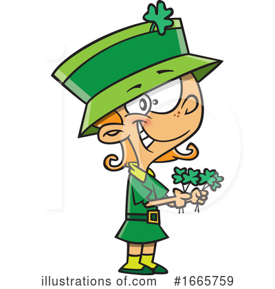 Leprechaun Clipart #1665759 by toonaday