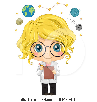 Outer Space Clipart #1685410 by BNP Design Studio