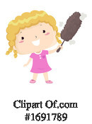 Girl Clipart #1691789 by BNP Design Studio