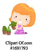 Girl Clipart #1691793 by BNP Design Studio