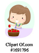 Girl Clipart #1691796 by BNP Design Studio