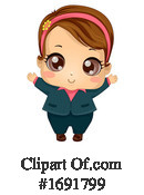 Girl Clipart #1691799 by BNP Design Studio