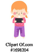 Girl Clipart #1698204 by BNP Design Studio
