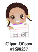 Girl Clipart #1698237 by BNP Design Studio
