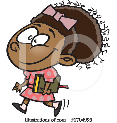 Girl Clipart #1704995 by toonaday
