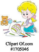 Girl Clipart #1705046 by Alex Bannykh